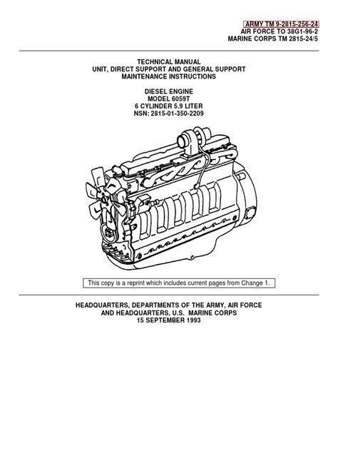 John Deere 6059T Engine | Internal Combustion Engine | Piston