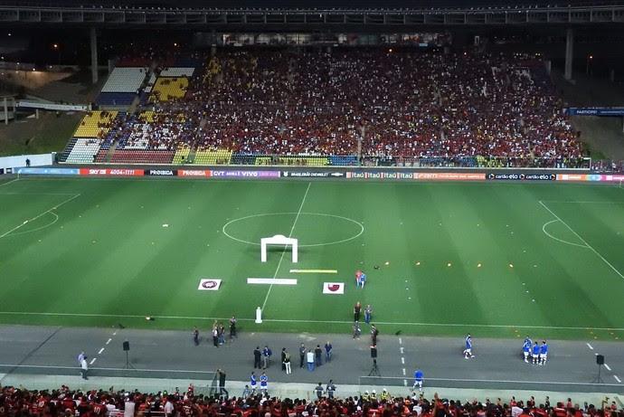 Flamengo x Atlético-PR Kleber Andrade (Foto: Fred Gomes)