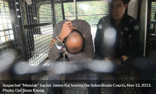 Photo stolen from Today. Please don't kill us, we credit back to you: http://www.todayonline.com/singapore/suspected-messiah-hacker-charged-court