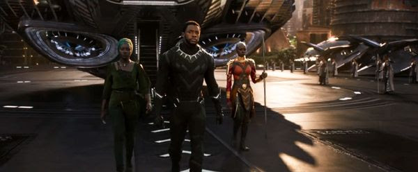 Chadwick Boseman returns as Wakanda's hero king T'Challa in BLACK PANTHER.