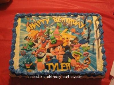 Coolest Pokemon 7th Birthday Party