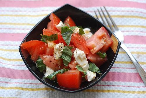 Tomato & mozz