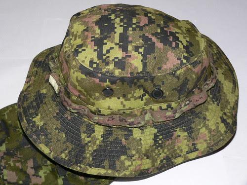 Boonie Hat CADPAT TW + Tela CADPAT TW Mod.