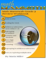 cover for Math Mammoth Grade 2 Review Workbook