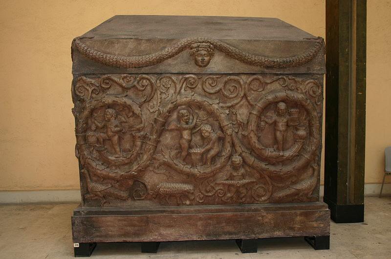 Fil: Roma, Museo d.  Civiltà Romana - Sarcofago di Costantina - Foto Giovanni DALL'ORTO, 12-Apr-2008 - 1.jpg