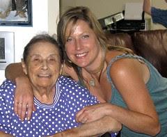 grandma and meself