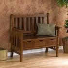 Acadian Collection Entryway Bench at Brookstone—Buy Now!