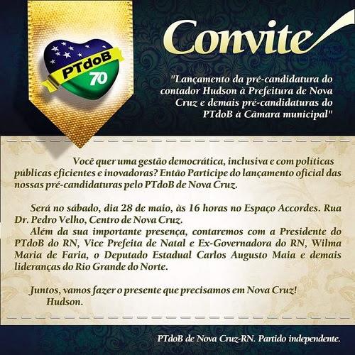 convite PTdoB