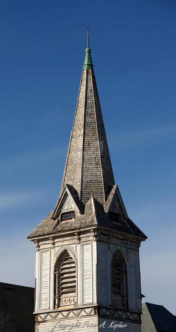 Steeple and Spire copyright by peterkopher