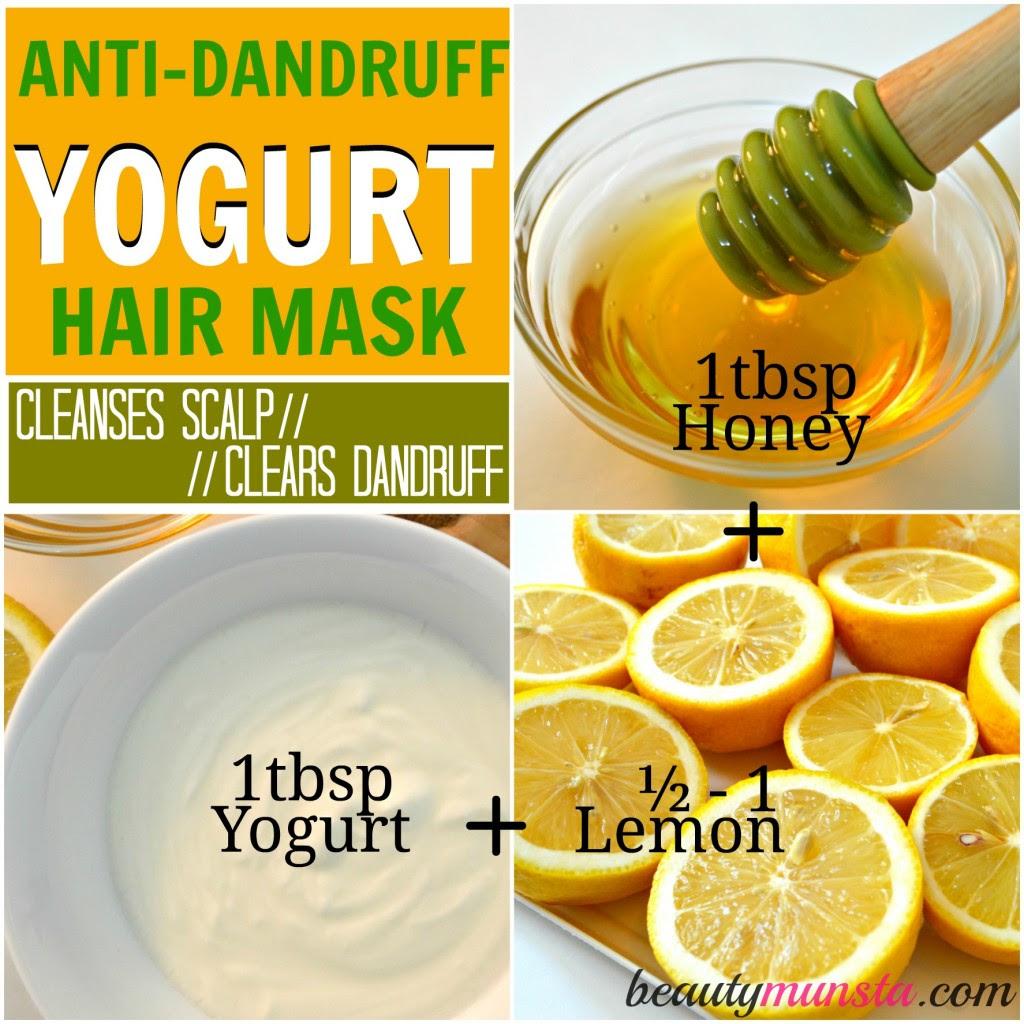 3 Nourishing Yogurt Hair Mask Recipes for Hair Growth and ...