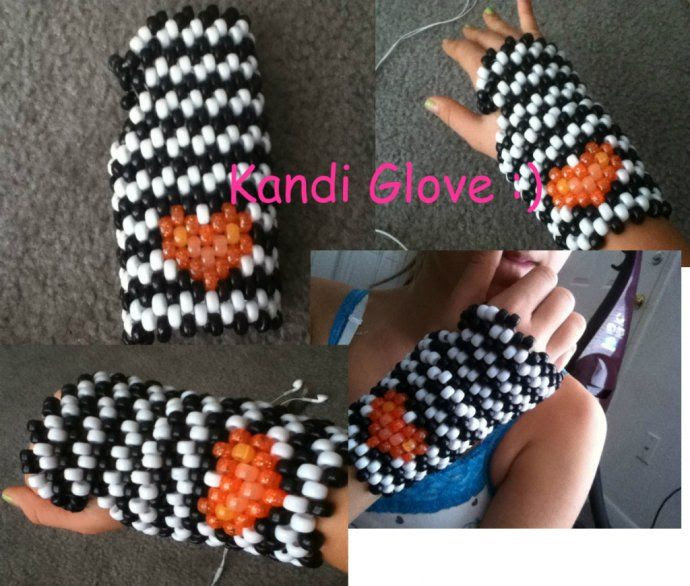 Kandi Glove by OceanneRose - Kandi Photos on Kandi Patterns