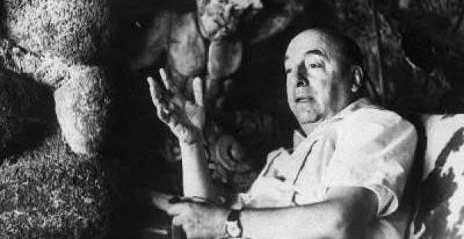 Foto del archivo del poeta chileno Pablo Neruda