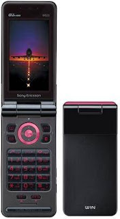 Sony Ericsson W62S Phone in Japan