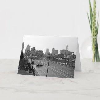 Downtown Kansas City card