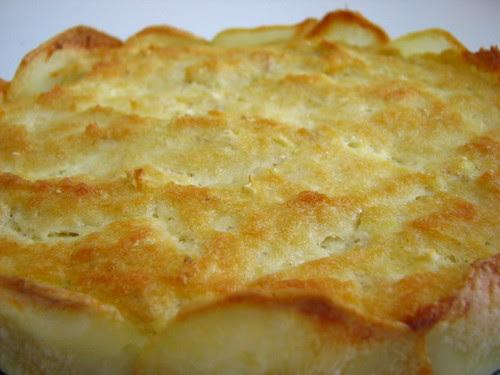 salt cod tart