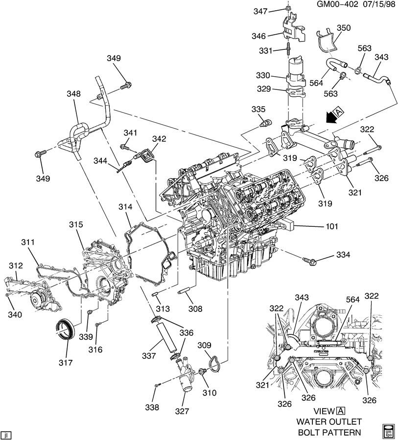 99 Oldsmobile Alero Engine Diagram