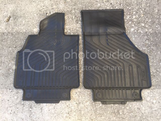 FS: OEM Audi All Weather Floor Mats | Audi R8 Forums