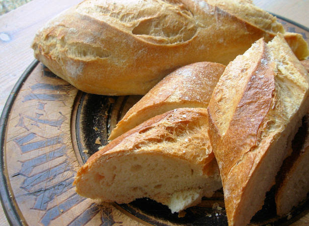 Marianne Baguette - Traditional Rustic French Bread Recipe ...