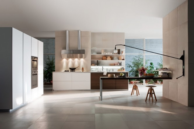 Two tone kitchen units