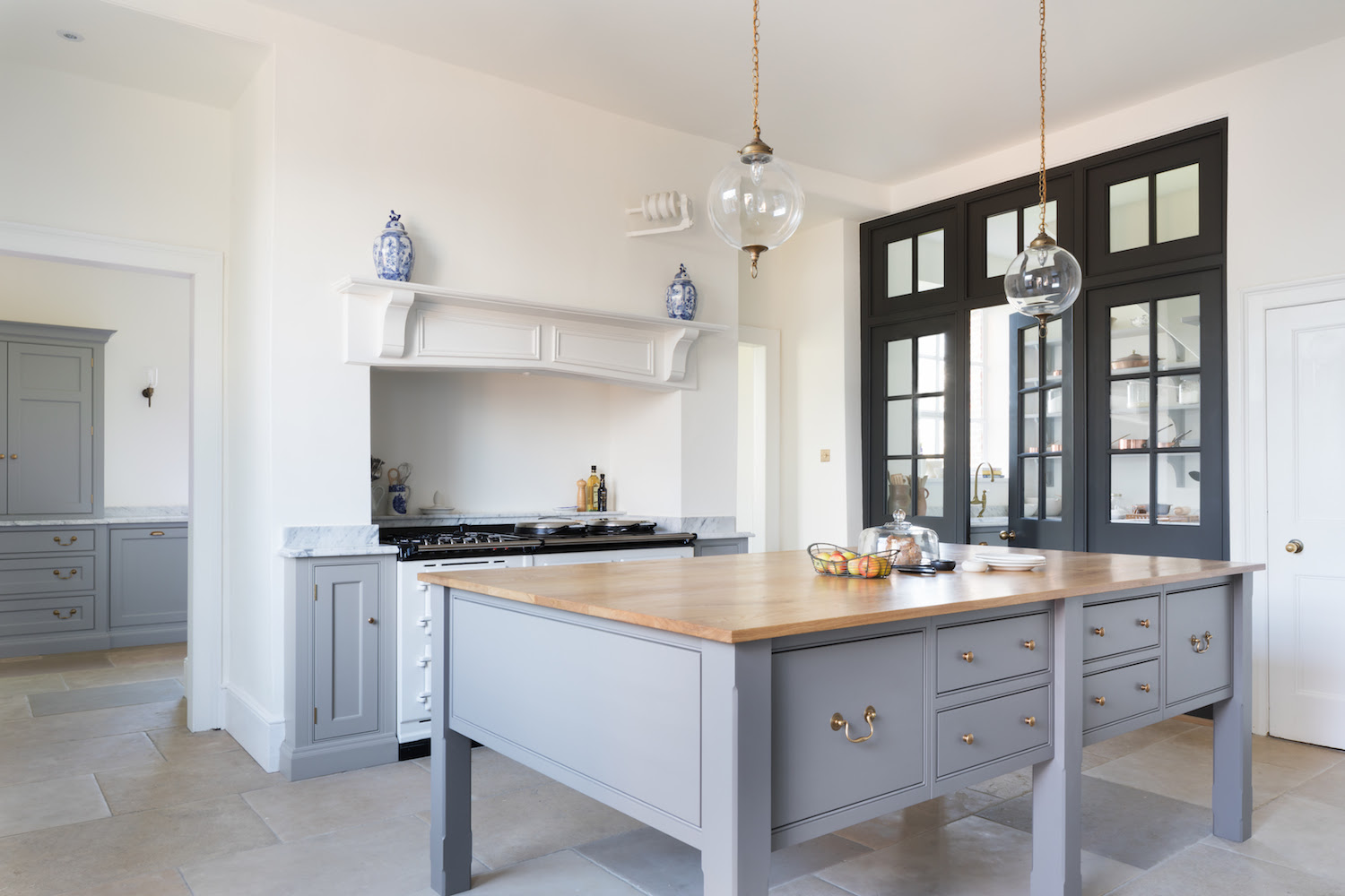 Georgian Kitchens: Get The Look: Symmetry on Modern Country Style