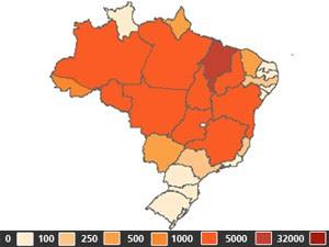 Maranhão é 1º em focos de incêndio no mês de outubro (Foto: Inpe)