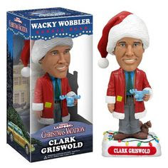 National Lampoon's Christmas Vacation Clark Bobble, Not Mint - Funko - National Lampoon - Bobble Heads at Entertainment Earth