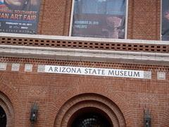 Entrance to Arizona State Museum