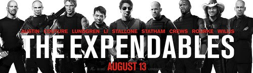 The Expendables movie poster banner