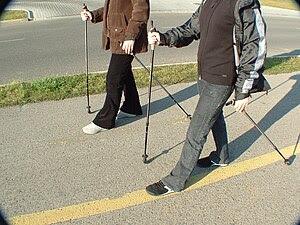 Nordic walking in Hungary