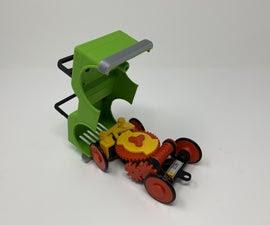 Robotic Cam Steered Vehicle