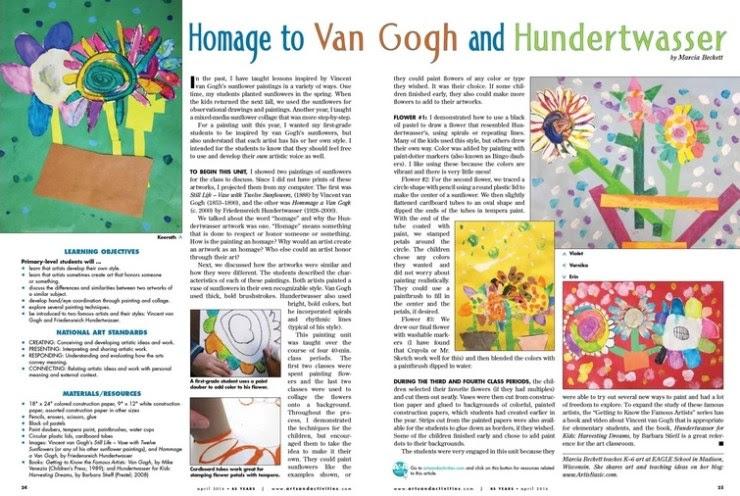 Arts and Activities magazine