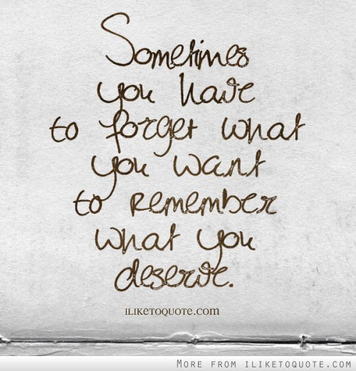 Quotes Tagged Under Deserve