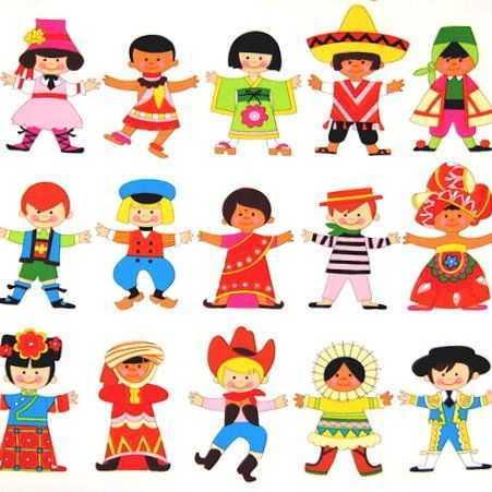 Farklı ülke çocukları Etkinlikleri Okul öncesi Etkinlik
