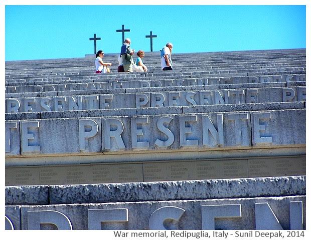 War memorials to remember soldiers - Images by Sunil Deepak, 2014