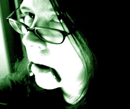 Pretzel-fanged monster