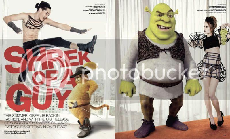 VMan Magazine #18 - Shrek Of A Guy @ StreetStylista.Guy