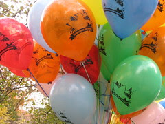 Balloons for the kiddies