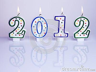 Decoração 2012 Do Ano Novo