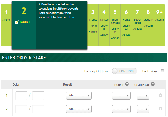 Racing post betting calculator paddy best place to bet on ufc fights