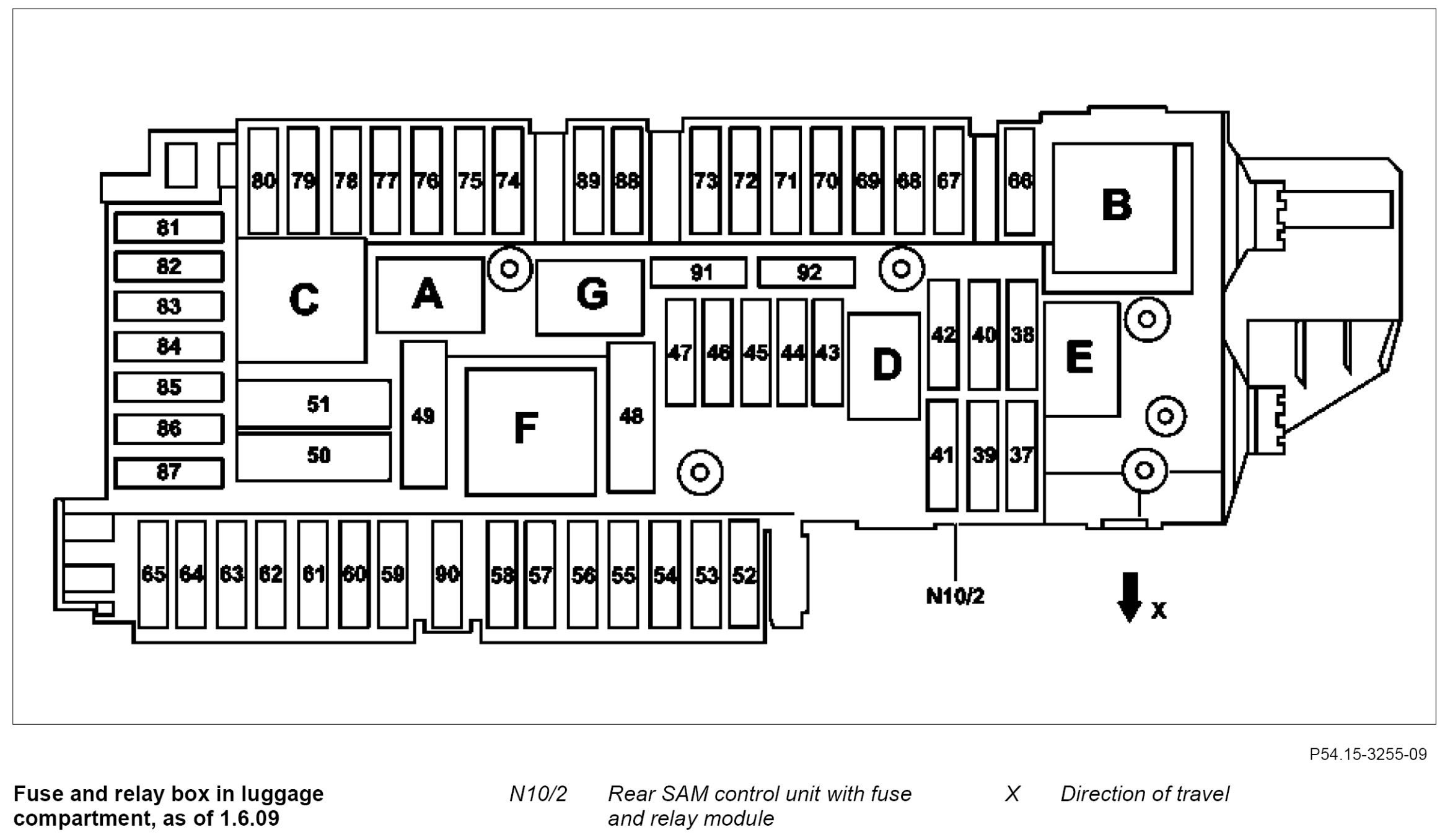 2004 C230 Fuse Box Diagram