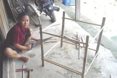 Cara Membuat Kandang Ayam Bangkok Sederhana Dari Bambu ...