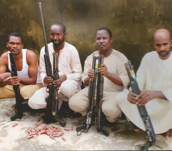 SARS Rescued Business Man From Kidnapper's Den In Ogun State, 4 Suspects Arrested.