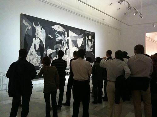 Sala del Guernica - Museo Reina Sofía - Madrid