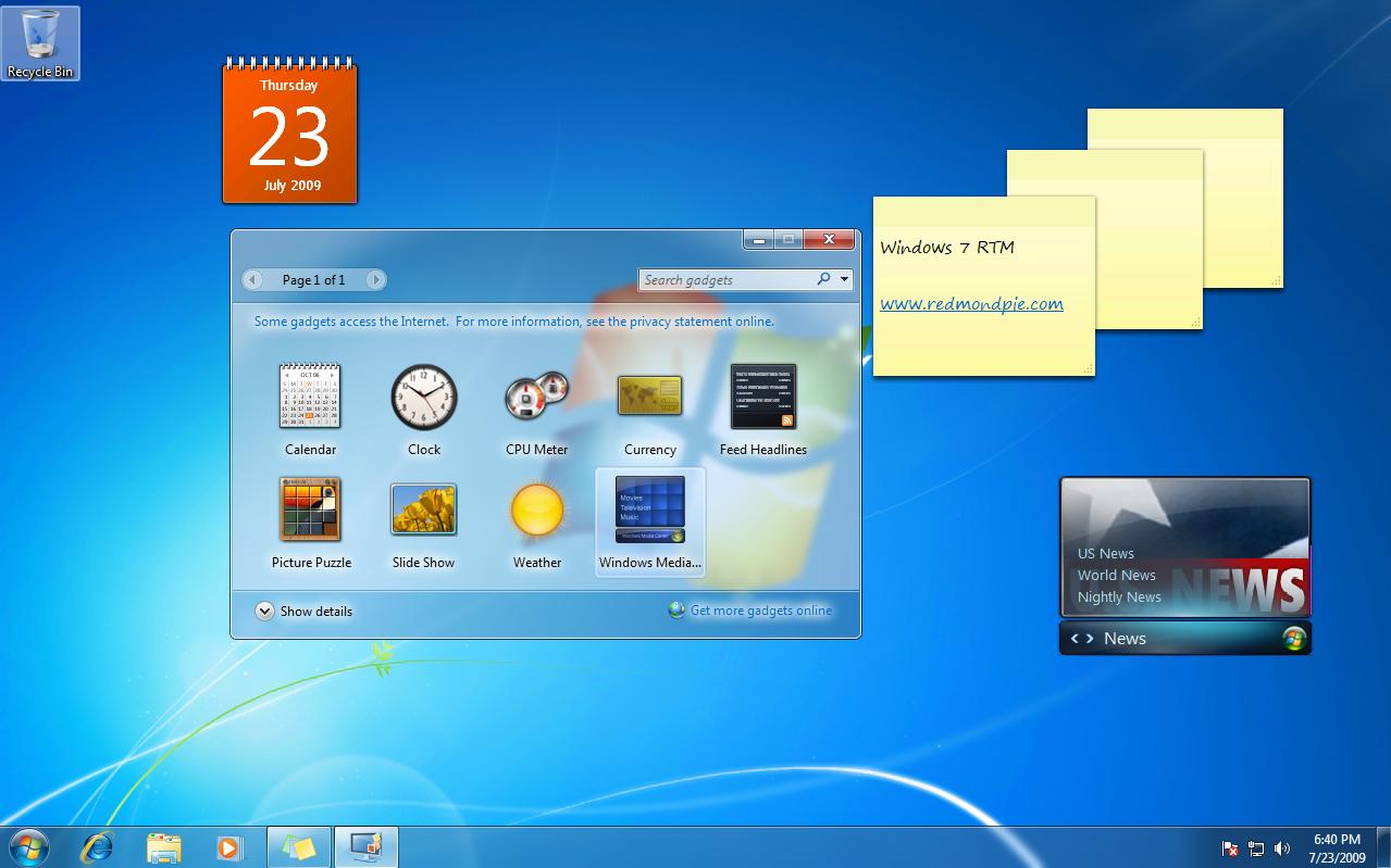 Windows 7 Ultimate - RTM Screenshots Gallery   Redmond Pie