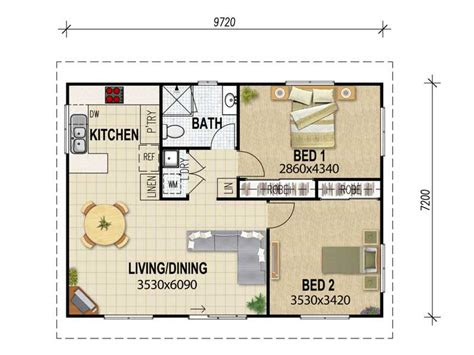 bedroom flat floor plan granny flat plans granny flat