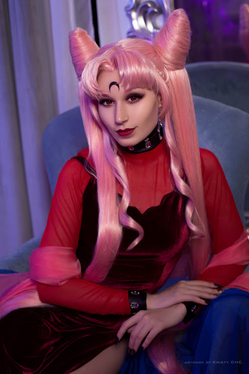 Black Lady From Sailor Moon Cosplay