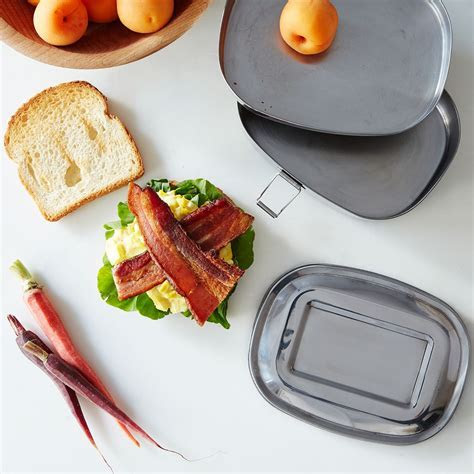 2 Layer Sandwich Box (Set of 2)   Lunch Container