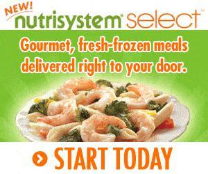 nutrisystem select order food delicious frozen foods