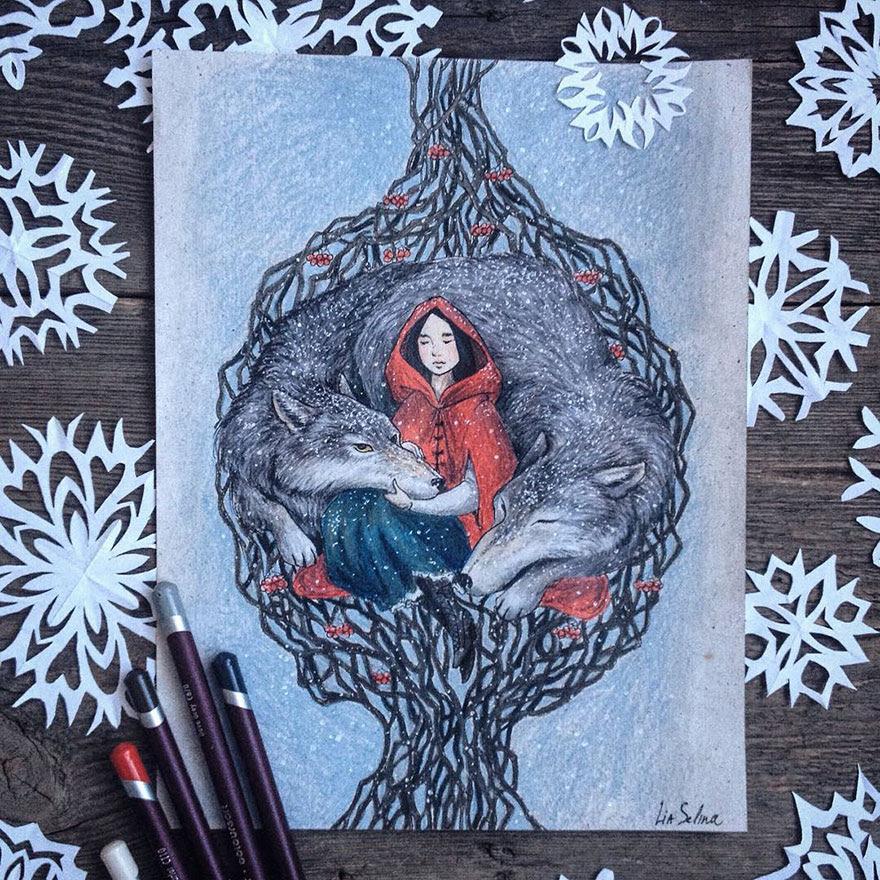 ilustraciones-cuentos-hadas-lapices-colores-lia-selina (10)