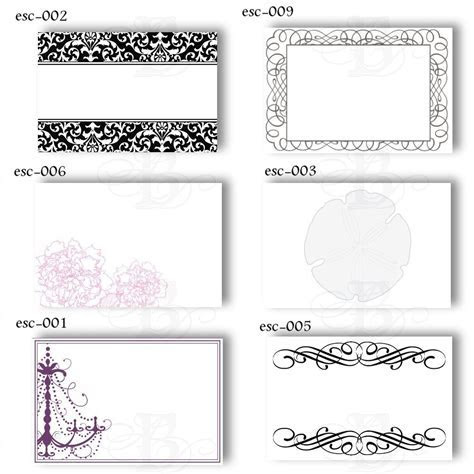 19 Elegant & Fun Printable Place Cards   KittyBabyLove.com